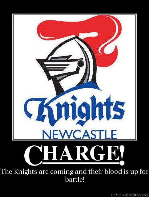 The Newcastle Knights are an Australian professional rugby league football club based in Newcastle, New South Wales.  15th in National Rugby League