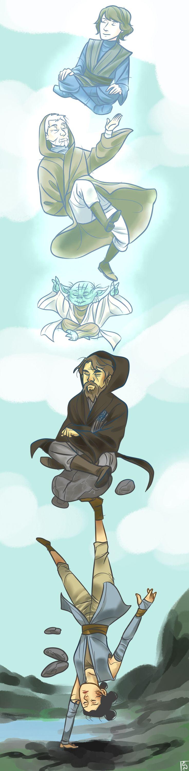 L'entraînement de Rey