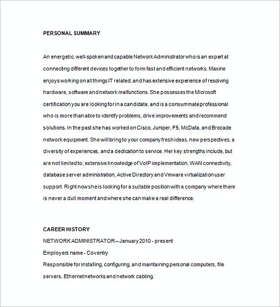 Network Administrator Resume Sample , Database Management Resume , This database management resumeprovides you information that should be adhered in the resume. Read this article to know further how to apply for this position