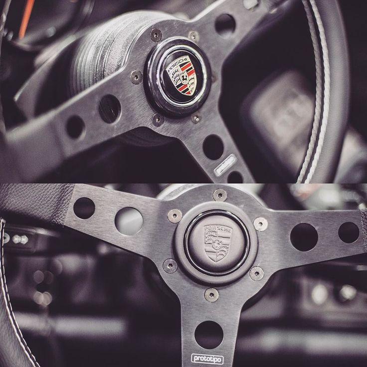 #need #advice ☝️ #top #or #bottom ⬇️ #horn ? #steering #wheel #momo #prototipo #porsche #911 #porsche911 #targa #964 #porsche964 #vintage #classic #retro #hipster #oldskul #vintagecar #vintageauto #classiccar #classicauto #youngtimer #drivetastefully #warsawdrive #aircooled #restoration by warsawdrive http://overboldmotor.co