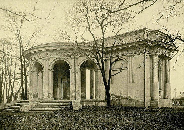 Садовый павильон Михайловского дворца.  1905 г.