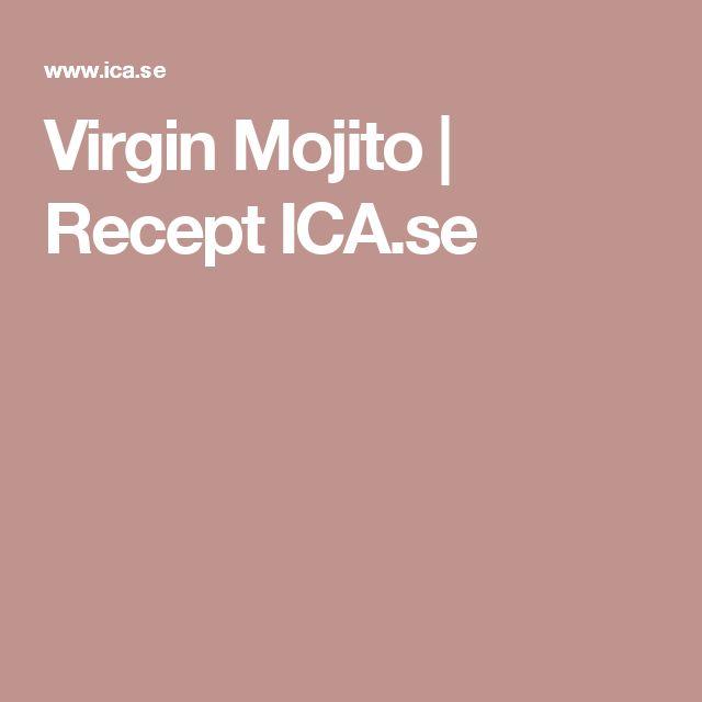 Virgin Mojito | Recept ICA.se