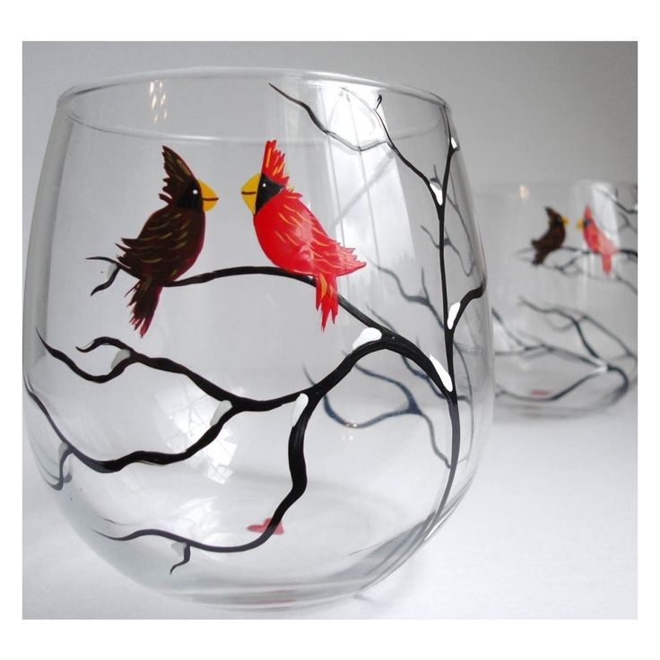 cute hand painted wine glasses craft ideas pinterest