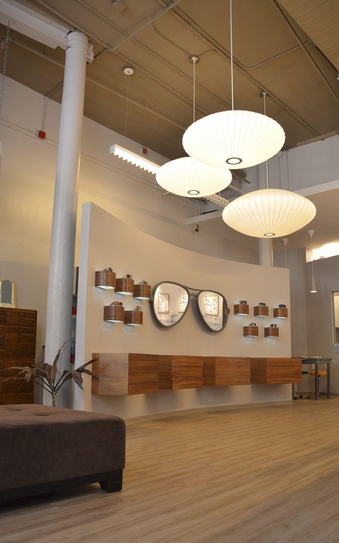 Providence Optical's showroom