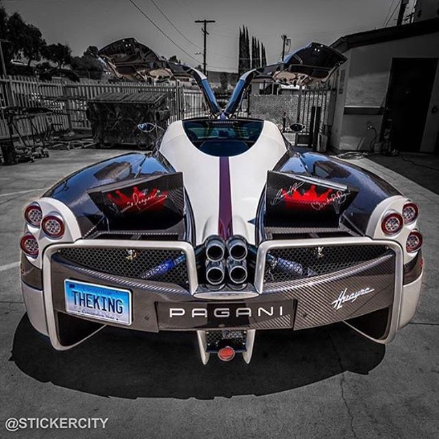 Pagani Huayra! _ Photo: @stickercity  Use: #bestcarsevermade  _ Member of: @teamwolcars  _ Crew: @bestcarsevermade | @worldscoolestcars | @red_line_performance_ | @ferrariphotopage | @ferrari.videos | @autocars1  _