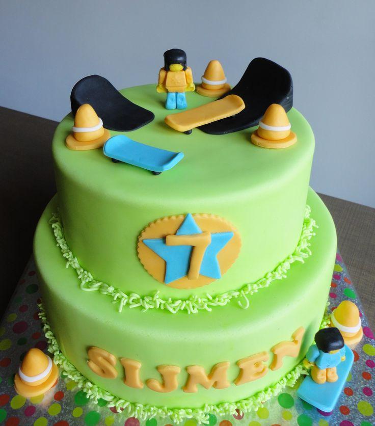 Skateboard taart  Skate cake