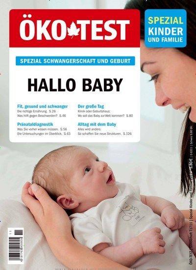 Hallo #Baby - Fit, #gesund und #schwanger 👶🍼 Jetzt in Öko-Test Spezial Kinder und #Familie. #pregnant #Geburt #newborn