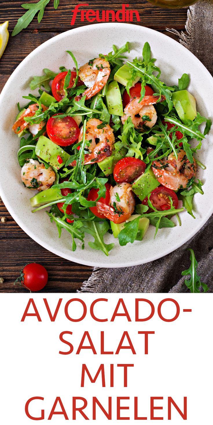 Avocadosalat mit Garnelen   – Alles über Avocado – Tipps und Rezepte