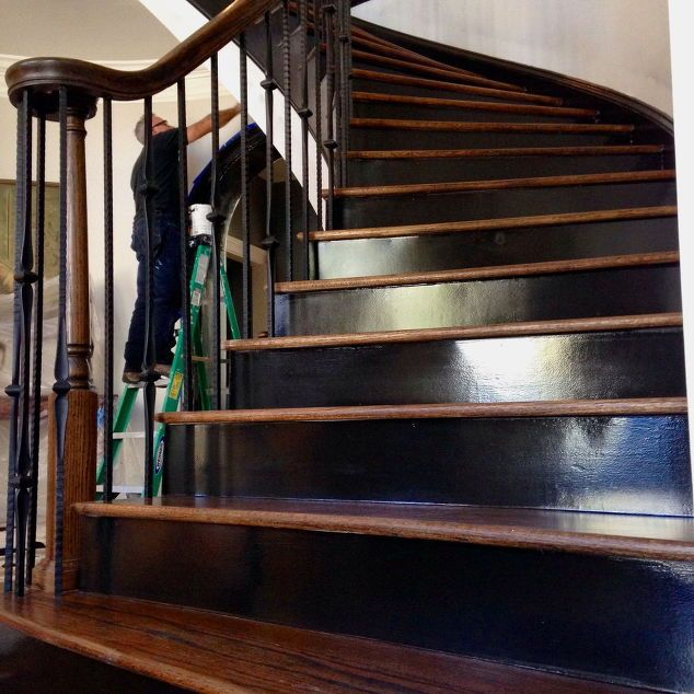 Image Result For Painted Stair Risers