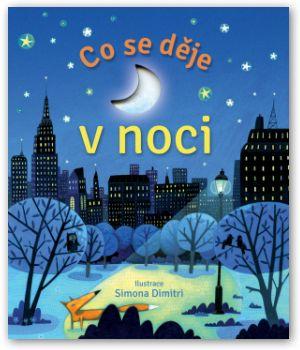 Leporelo, kniha, nejmenší děti, knížka s odklápěcími okénky, co se děje v noci, jak to žije v noci.