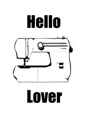 sewing machine -