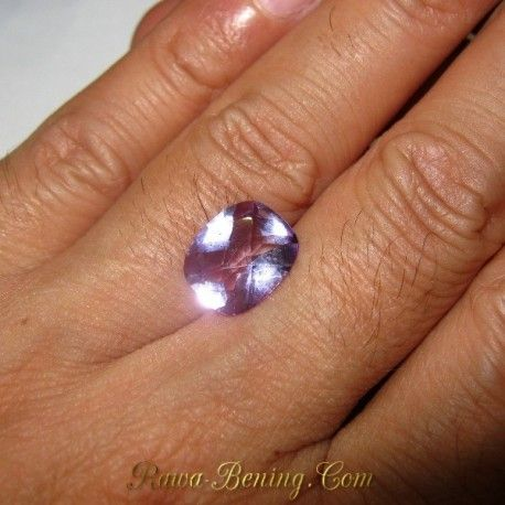 Permata Natural Cushion Purple Amethyst 3.78 carat