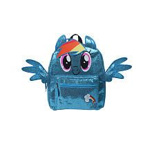 My Little Pony Giltter Printed Hair Ears and Wings Backpack $19.99