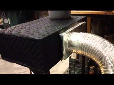 Perfect waste oil burner for shop/garage. - YouTube