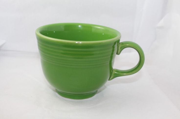 Fiestaware small coffee cup  *Shamrock* USA Homer Laughlin USA #Fiestaware