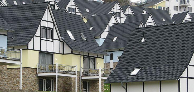 Osiedle w Niemczcech, gdzie pomogliśmy z montażem okien dachowych.