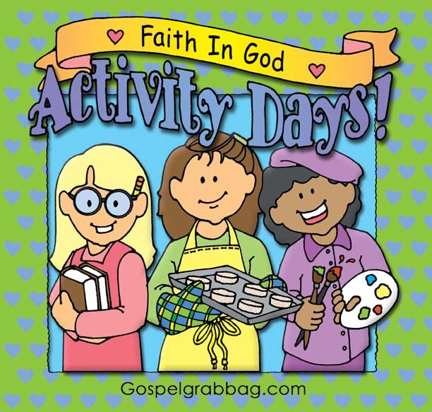 DOWLOAD Activities for Each Goal - LDS Faith in God Activity Days, gospelgrabbag.com