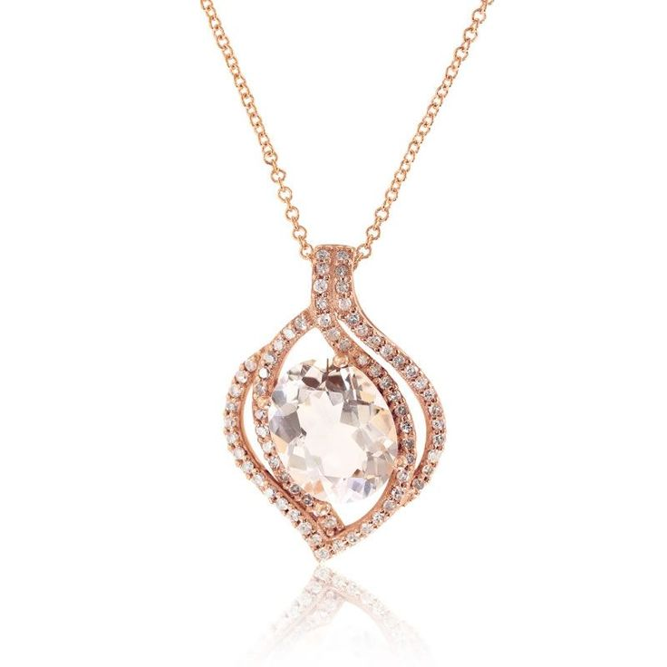 34 best Morganite rose gold images on Pinterest Rose gold Corona