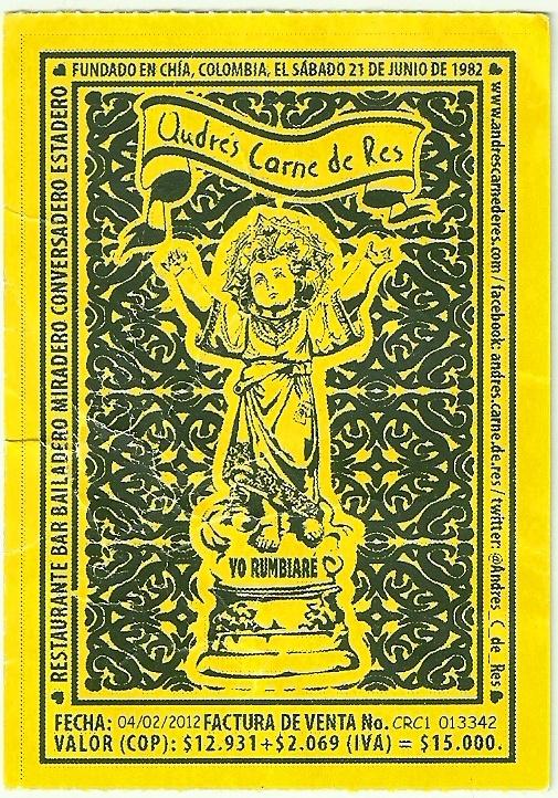 Ticket to Andrés Carne de Res Chia