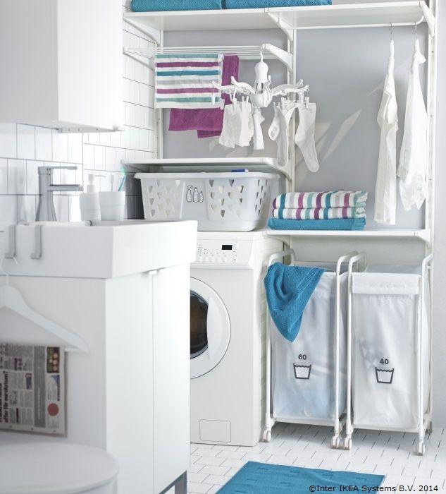 Ai obiceiul să întârzii dimineața? O baie organizată te poate ajuta să ieși mai repede din casă www.IKEA.ro/organizare_pentru_baie