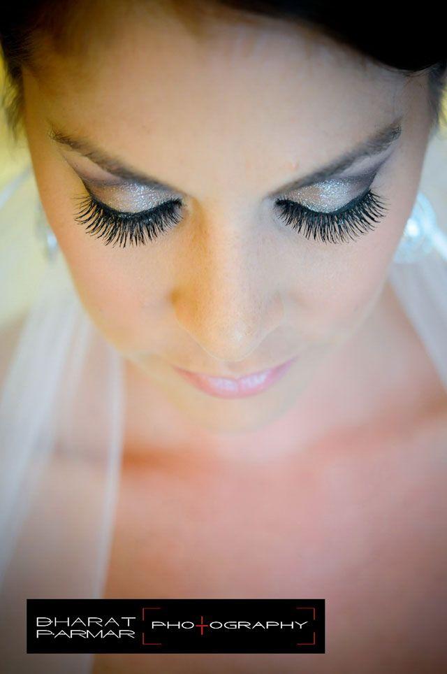 Wedding Bridal Makeup Natural Looking Human Hair False Eyelashes Elegant Lashes 747s Black