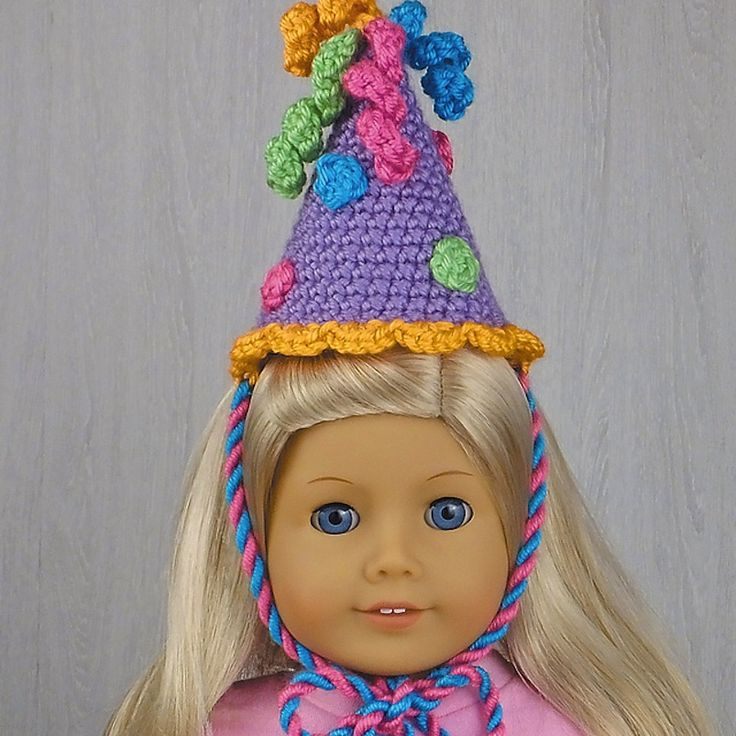 Doll party hat