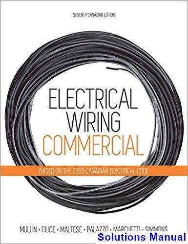 Wondrous Solutions Manual For Electrical Wiring Residential Canadian 7Th Wiring 101 Akebwellnesstrialsorg