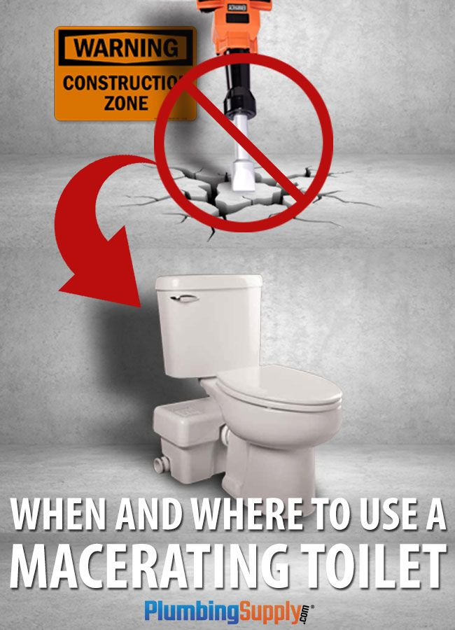 Considering adding another bathroom to your home? Need a bathroom in an unusual location? Find out when and where you'll need to use a macerating upflush toilet.