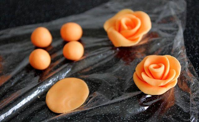 Fondant Cakes for Beginners | Easy Fondant Roses for Mothering Sunday Cakes