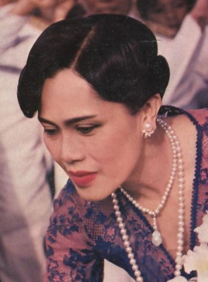 HM The Queen Sirikit of Thailand.