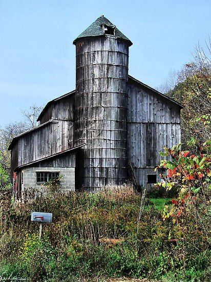 17 Best images about Corn Cribs and Silos & Grain ...