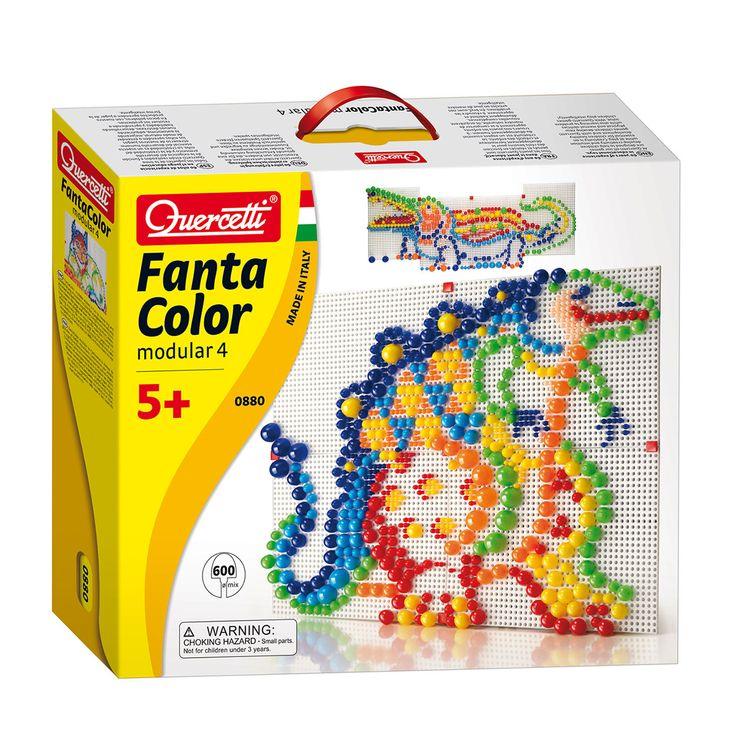 Met deze set kan je grote creaties maken door de 4 geperforeerde borden aan elkaar te maken. Geschikt voor kindjes vanaf 5 jaar. Te vinden bij Sassefras Meisjes Speelgoed voor écht peuter en kleuter speelgoed.