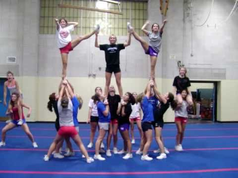 Merrimack JV Rock Pyramid