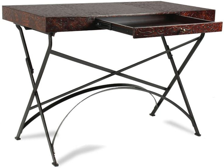 Shop For Sarreid Folding X Table And Other Home Office Desks At Alyson Jon Interiors In Houston Beaumont TX