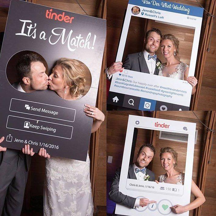 Polaroid Photo Booth Frame
