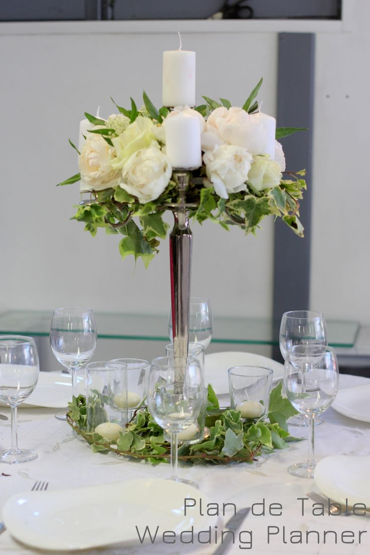 Chandelier fleur pour centre de table de mariage wedding for Idee deco vase
