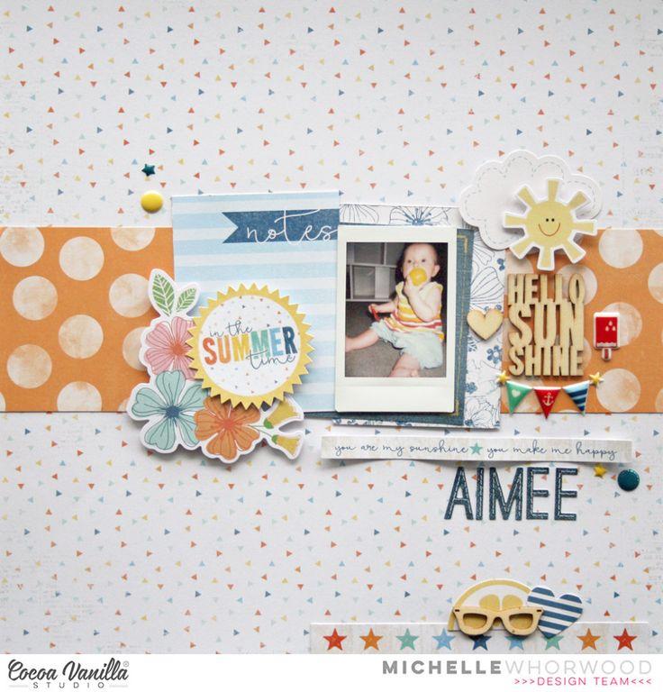 Aimee | Hello Sunshine | Michelle Whorwood | Cocoa Vanilla Studio