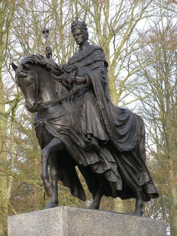Františkovy Lázně - Pomník císaře Františka II.