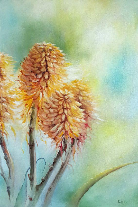 Highlighted - Oil on canvas 40cm x 60cm by Ellie Eburne