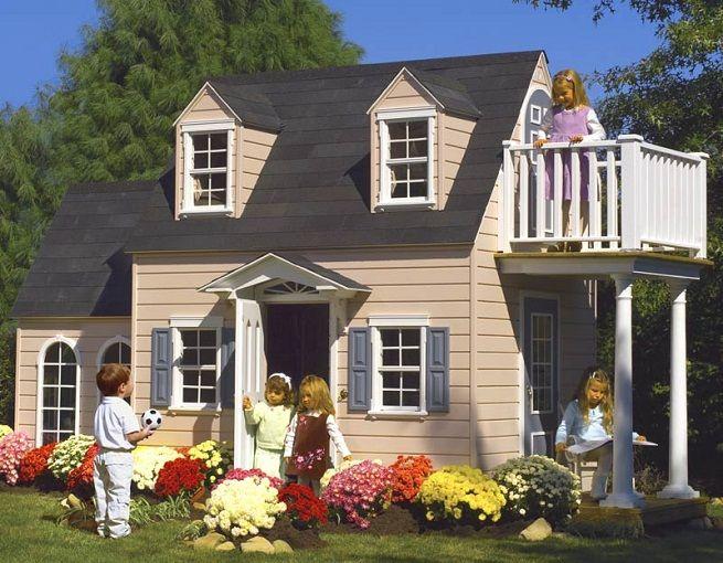 Casitas Para Jugar En El Jardin - Casas-infantiles-para-jardin