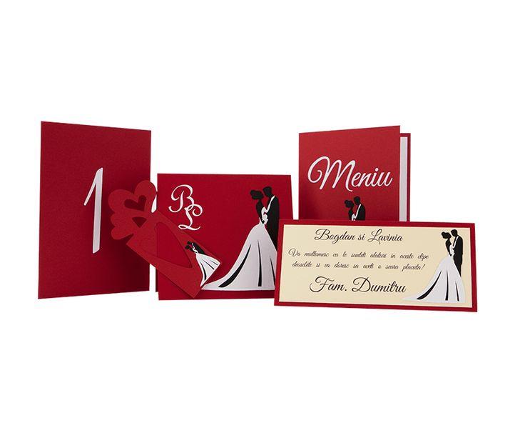 Creative Designs | Invitatie nunta 016