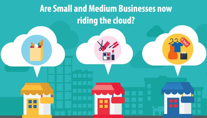 Are Small and Medium Businesses (#SMB) Now Riding The Cloud?   #CloudComputing is the delivery of #computing services over the #Internet, and it offers many potential benefits to small and medium-sized #enterprises (#SME).