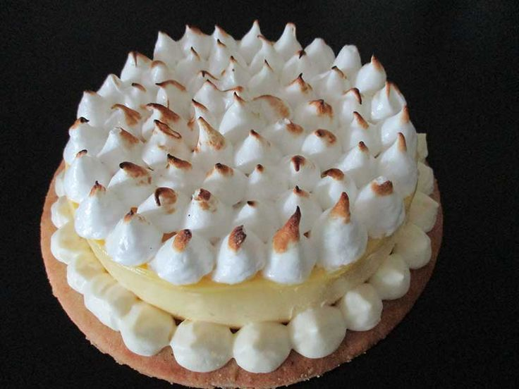 Recette de la tarte au citron-framboise