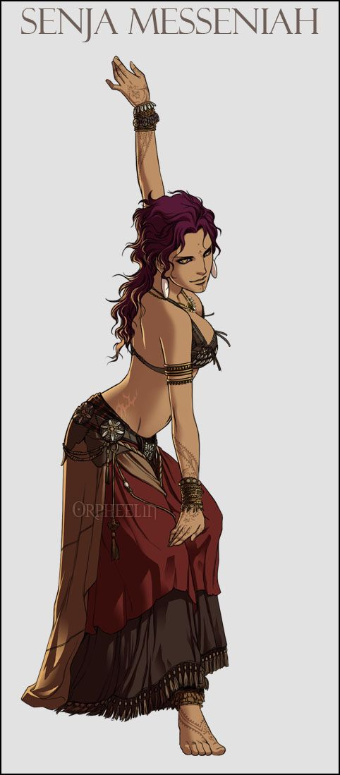 Senja dance outfit by *orpheelin on deviantART
