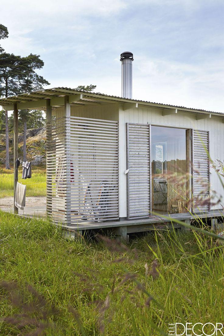 This Rustic, Minimalist Swedish Cottage Is The Most Charming Getaway - ELLEDecor.com