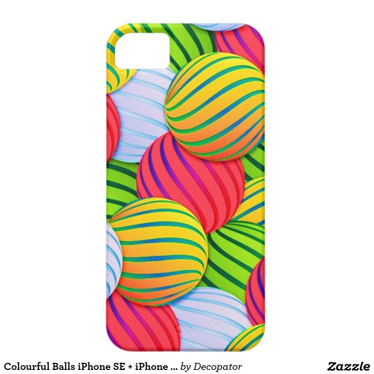 Colourful Balls iPhone SE + iPhone 5/5S Barely There iPhone 5 Case