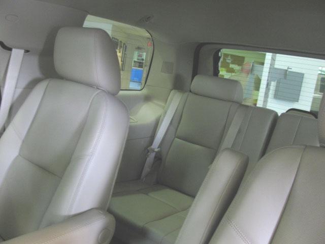 Quad Bucket Seats With Third Row Seats Chevy Tahoe Ltz
