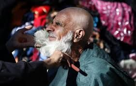 Dianggap Simbol Radikal, Tajikistan Cukur Paksa Jenggot Ribuan Pria