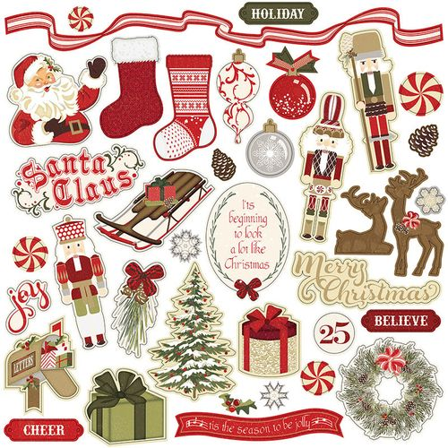 Holiday Cheer Element Stickers - Photoplay