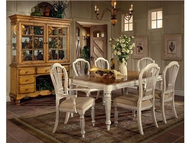 Shop for Hillsdale Furniture 7-Piece Rectangle Dining Set With Side Chairs, 4508DTBRCTCSC, and other Dining Room Tables at Furniture Plus Inc. in Mesa, AZ.. The Wilshire Collection features a blend of cottage styling with country accented details. The blend of Americana and English country gives the Wilshire Collection a look and feel that will enhance any home. My first choice